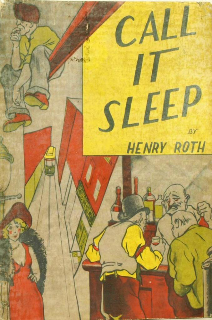 Qwiklit - Henry Roth - Call it sleep book cover