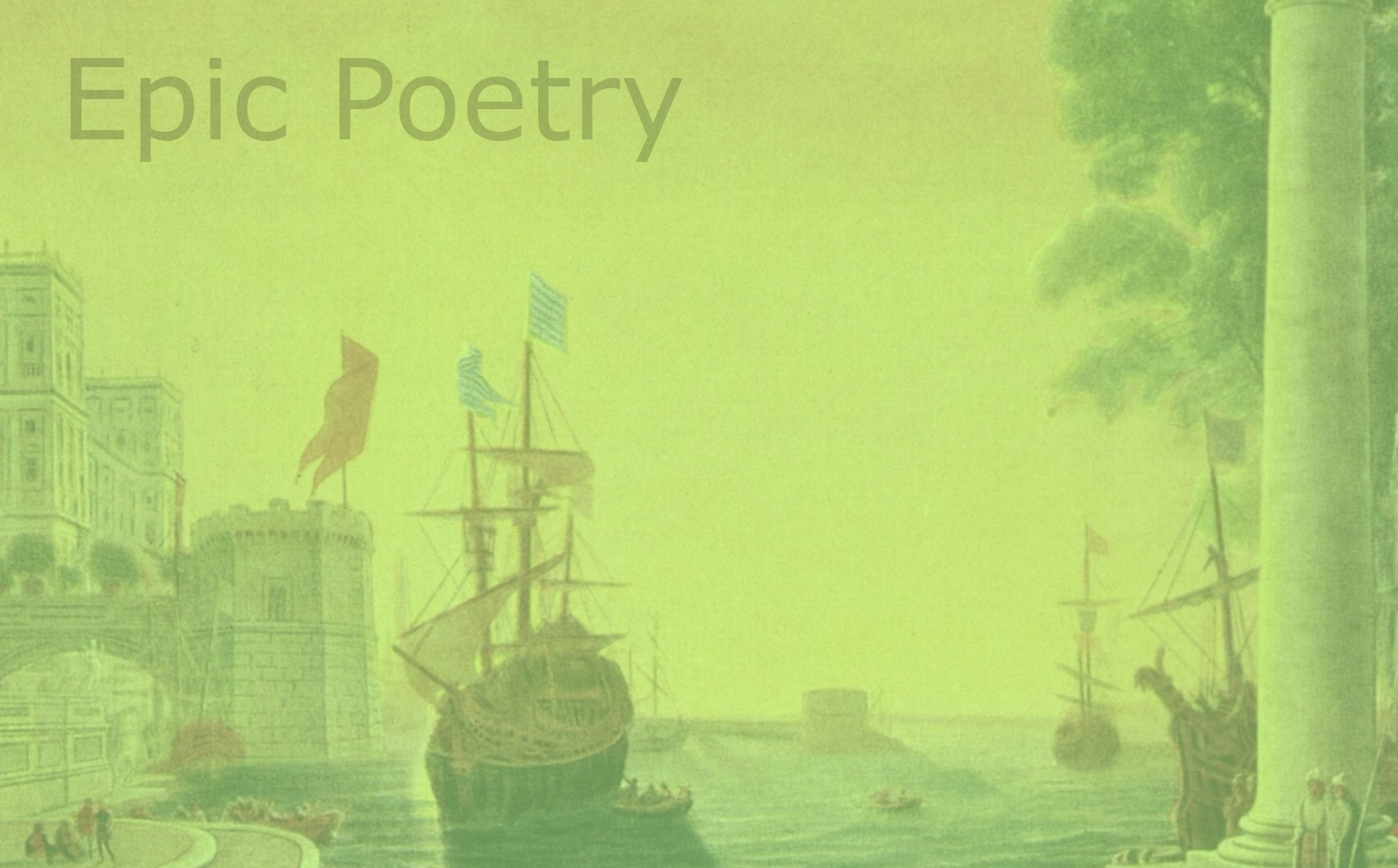 The 20 Greatest Epic Poems Of All Time Qwiklit