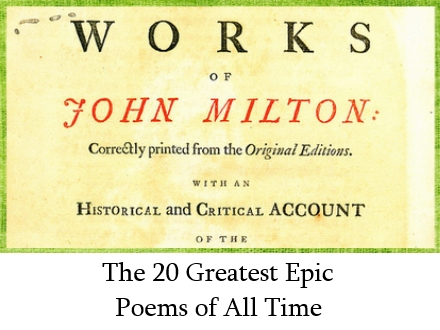 20 greatest epic poems of all time