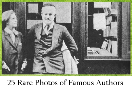 25 Rare Photos of Famous Authors