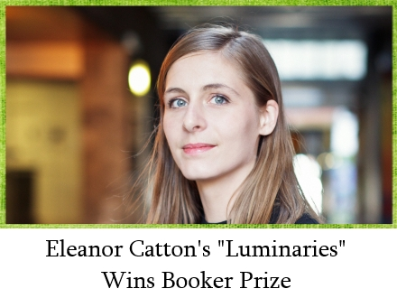 Eleanor Catton Wins Booker Prize