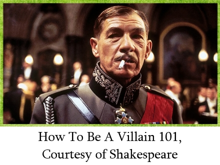 How to be a villain 101