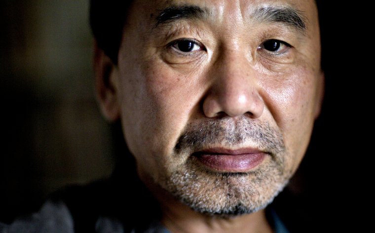Haruki Murakami doesn't brood in his spare time. He runs marathons. (Photo courtesy of: http://numerocinqmagazine.com/)