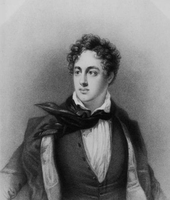 Byron's unkempt hair and dark poetry inspired countless young men to do the same.